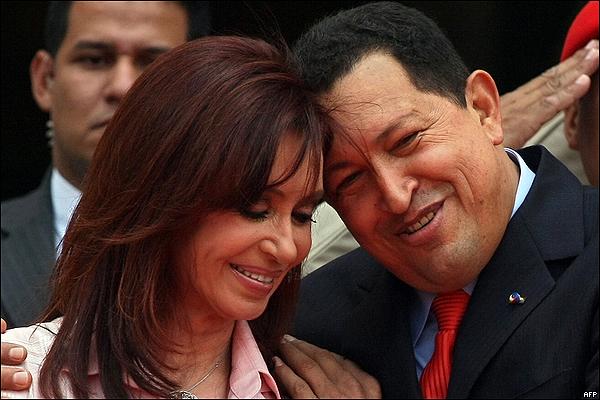 chavez Amantes de Cristina Fernandez de Kirchner