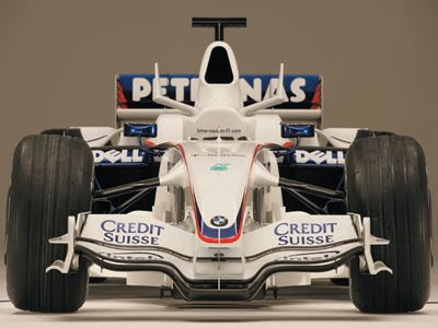 formula 1 racing car. a Formula One car is made