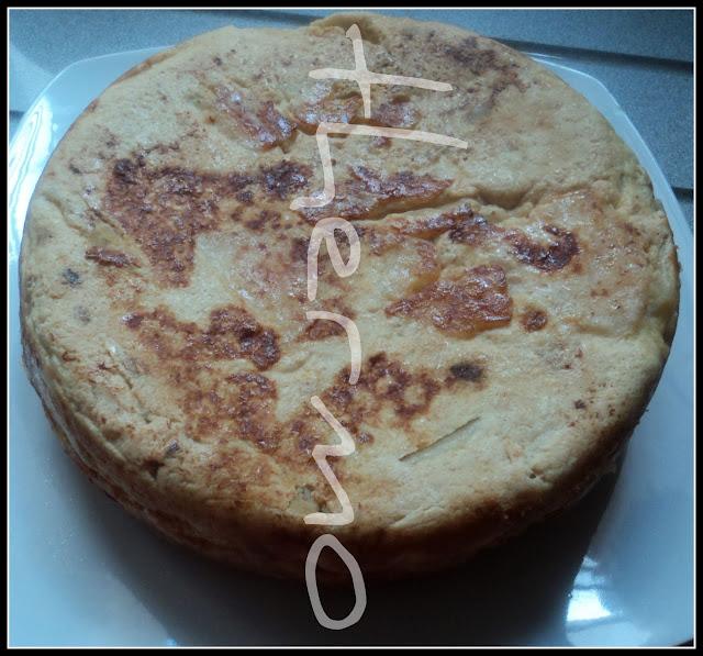 Tortilla española o de patatas receta casera