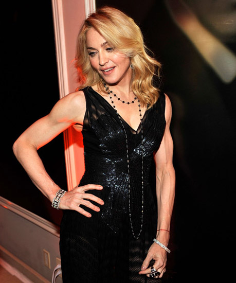 Madonna Arms Workout