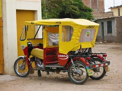 Unusual taxi around the world 22