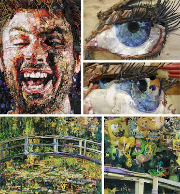 Amazing Works of �Garbage Art�