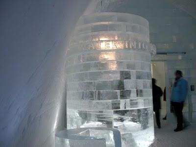 فندق الثلج السويد