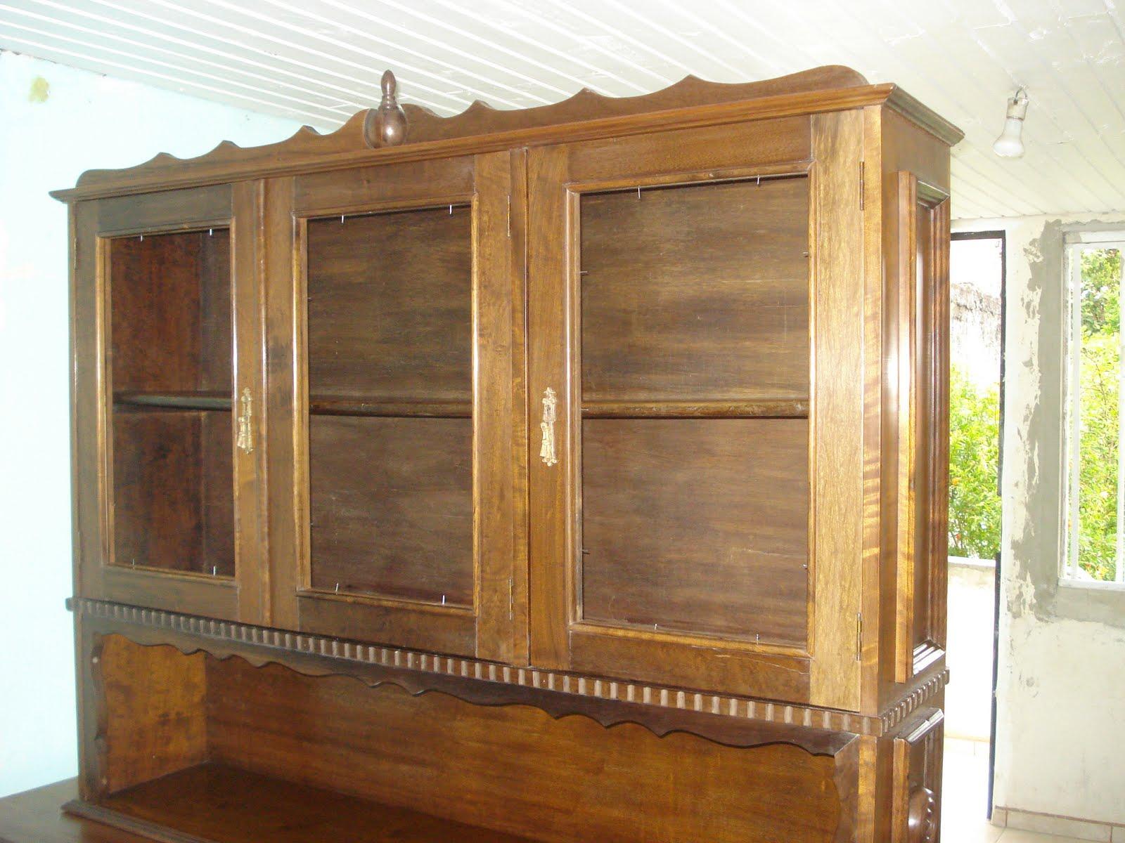 Restauração de Móveis de Época : Arca em Imbuia. #9AA427 1600x1200