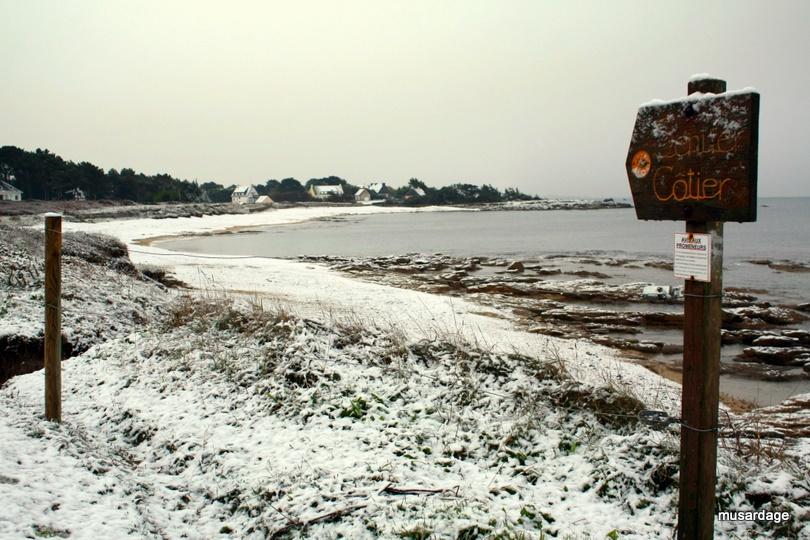 Neige sur Pendruc.