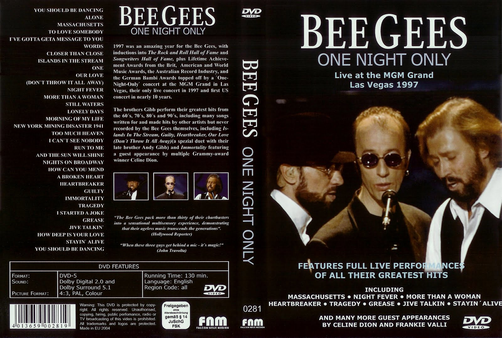 Bee Gees - One Night Only - The Limited Edition 6 Track From CD