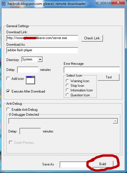 Remote Install Keylogger