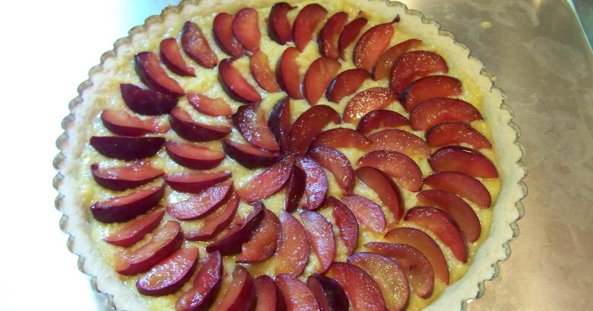 Marzipan: Fresh Plum Frangipane Tart