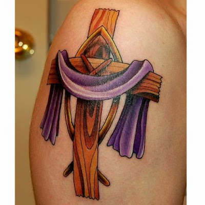 So you have been looking at a lot of cool cross tattoo designs in your local