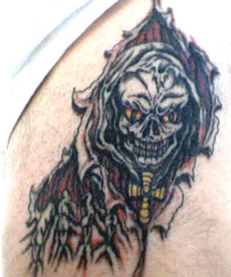 death tattoos