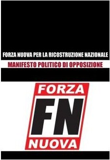 MANIFESTO DI OPPOSIZIONE NAZIONALE