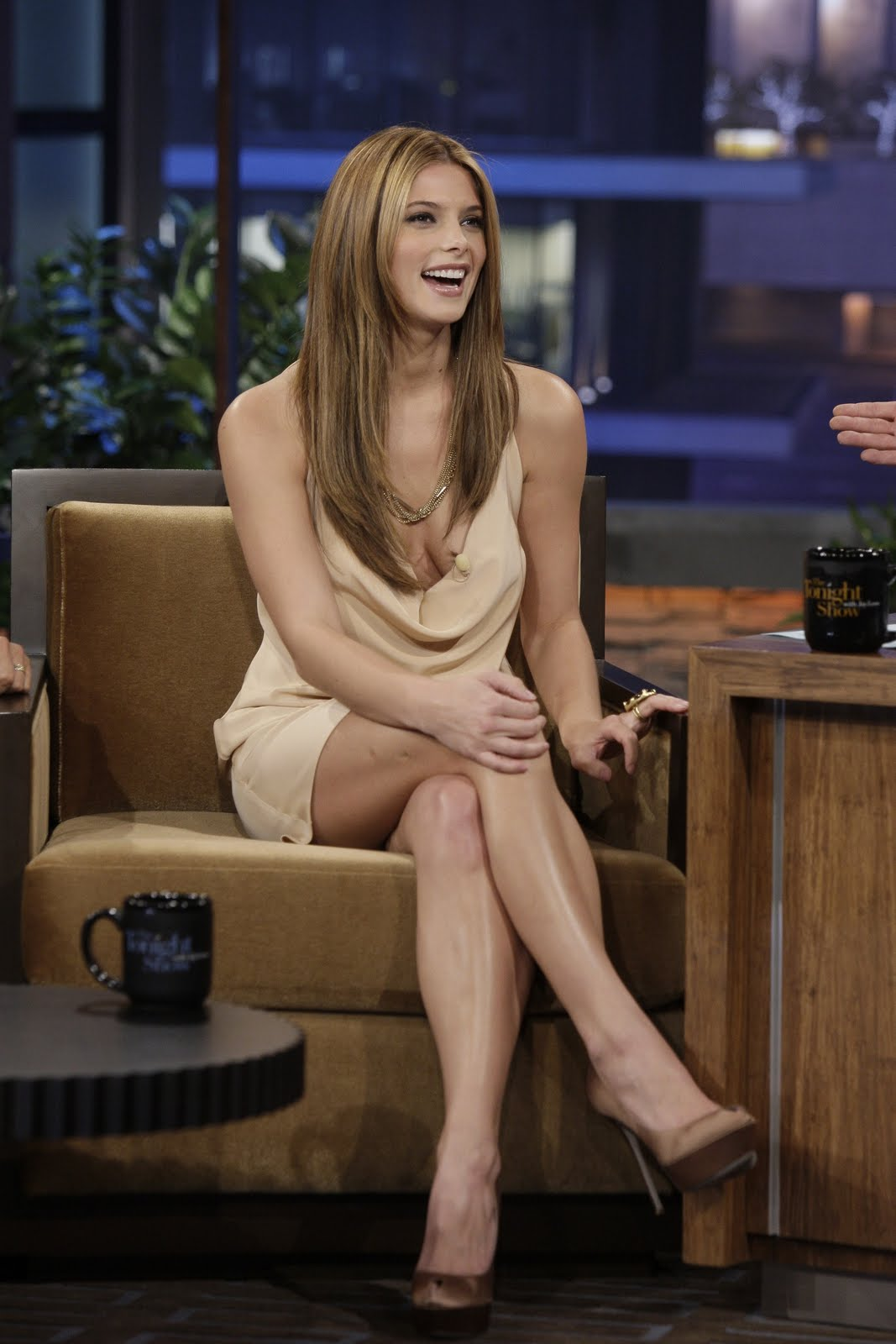 CelebPaps Ashley Greene At Tonight Show With Jay Leno