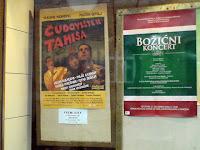 Poster Čudovišta iz Tamiša u zgradi CZK