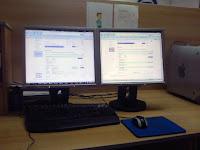 Dva Samsung monitora