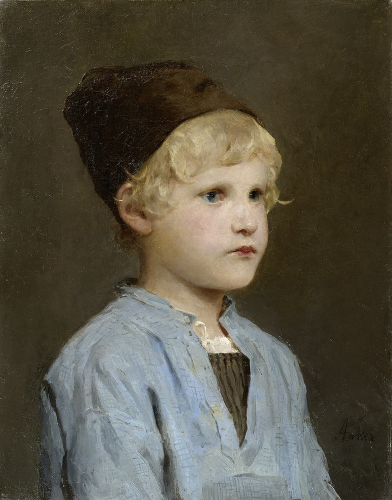 Albert ANKER, portraitiste d'enfants 3007