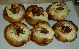 Bacon Quiche Biscuit Cups . I'm off to eat the leftovers because they ...