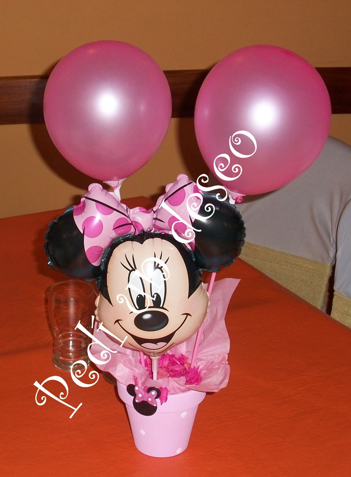 (DIY) Centros de mesa Minnie mouse - YouTube