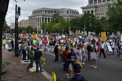 Left Coast Rebel 9 12 DC Tea Party Taxpayer March Pictures