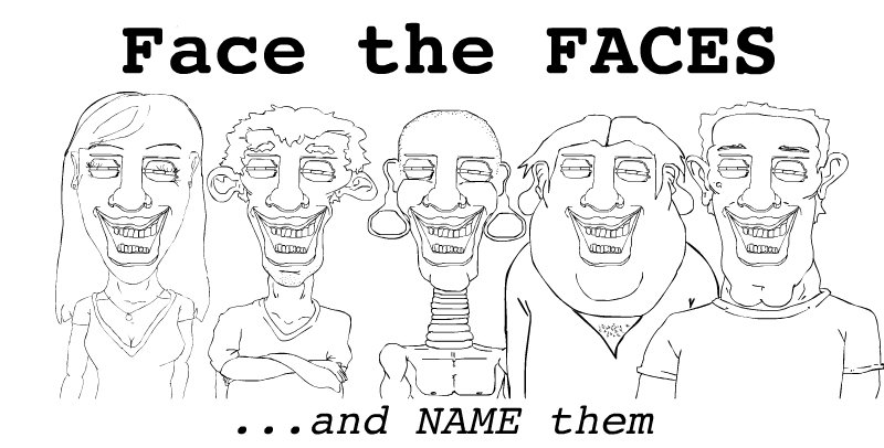 Face the FACES / name them