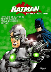 El DESTRUCTOR YA TIENE SU COMICS !!!