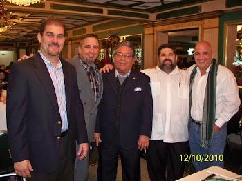 J.C. León, Lázaro Daniel, José L. Martel, Josán Caballero y Juan Juan Almeida