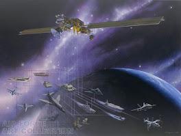 Milstar Satellite