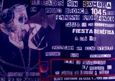 Fiesta Rebeldes Sin Sombra, radio libre feminista