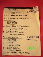 sort of setlist The wallflowers