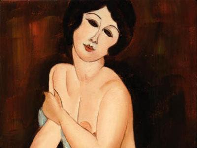 """La bella romana"", Amadeo Modigliani,  Mónica López Bordón, poesía, editorial Playa de Ákaba"