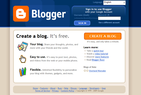 free blog websites  top 10 free blogging platforms