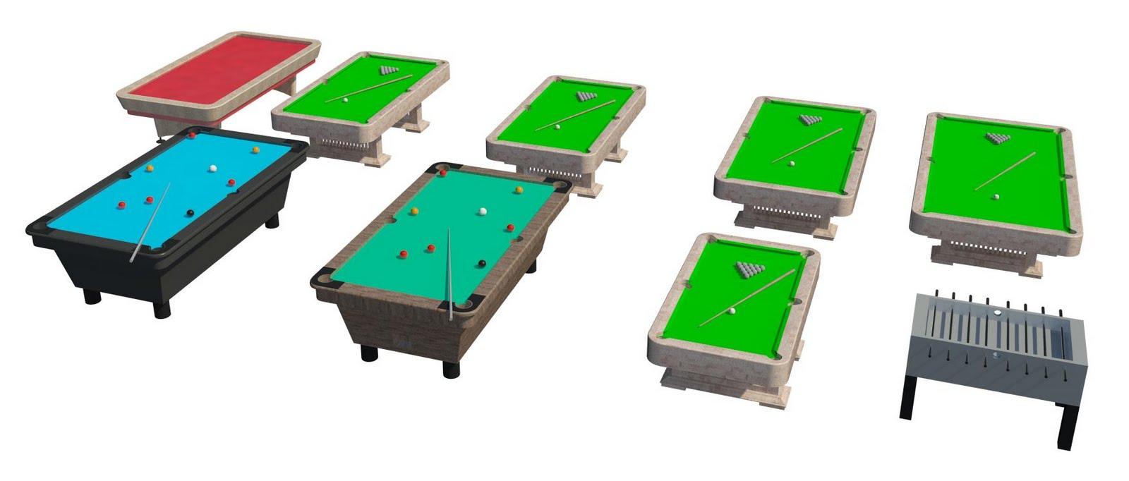 Pool Table Revit Family - Revit pool table