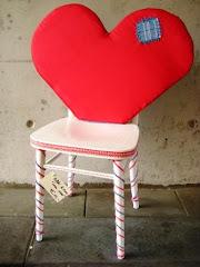 Love stoel