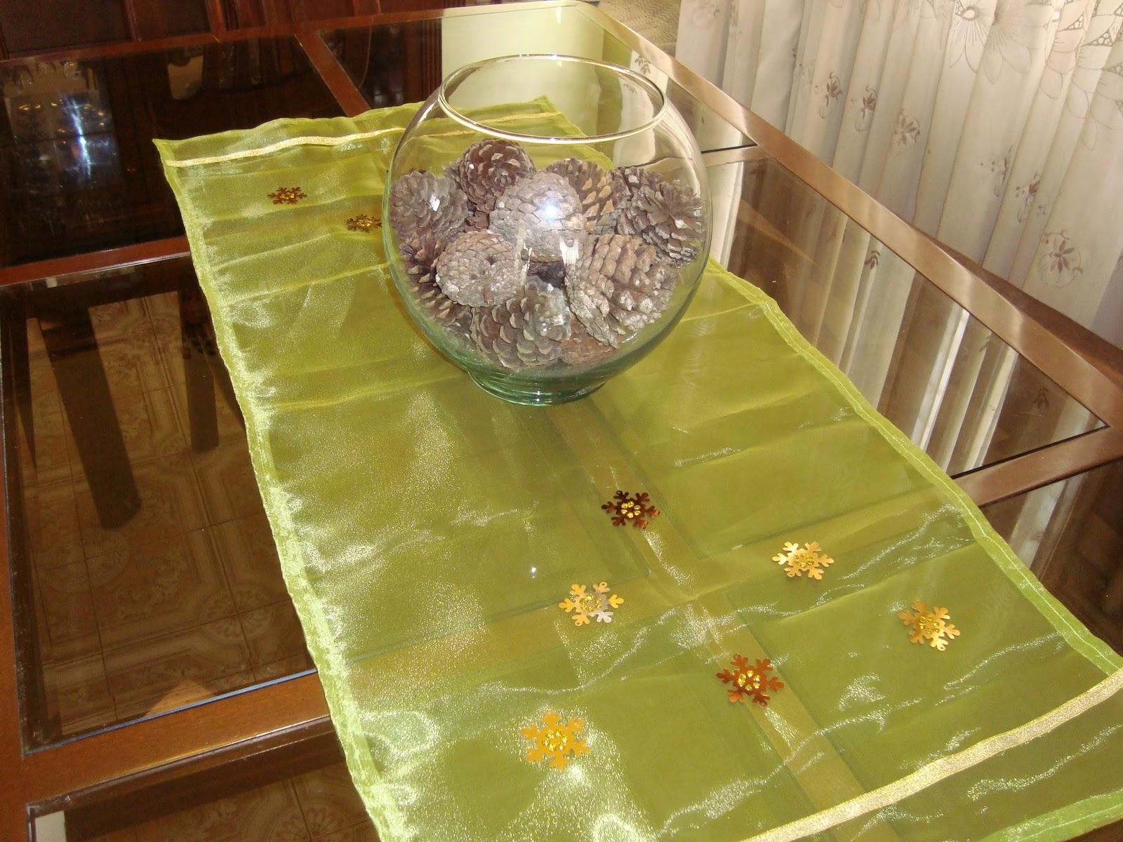 Camino de mesa navide o d divas originales - Caminos de mesa originales ...
