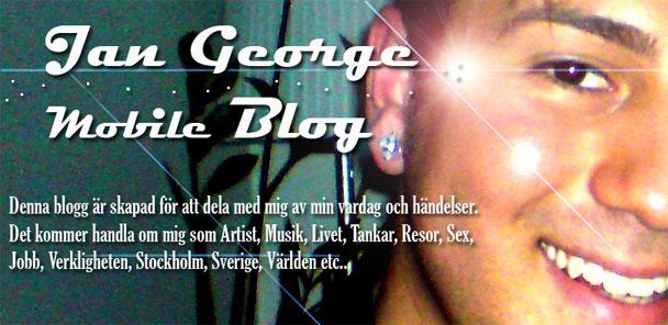 Jan George Mobile Blog