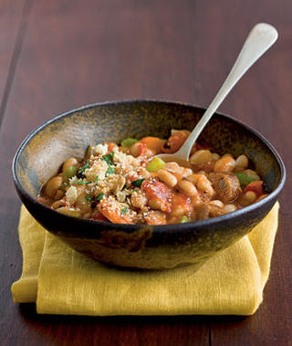 ... sausage cassoulet chorizo and gigante bean cassoulet white bean