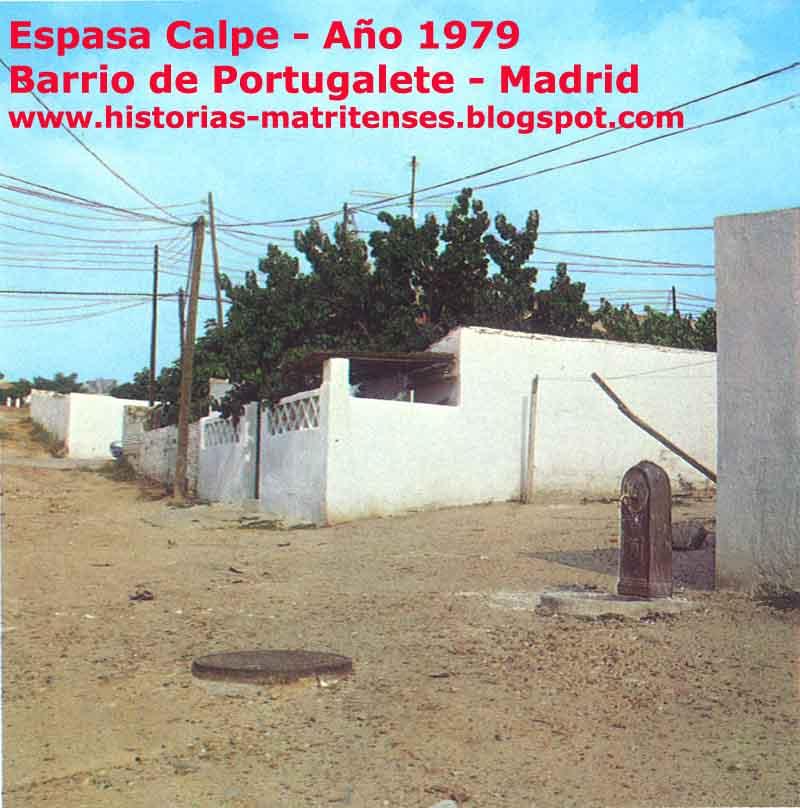 Historias matritenses el barrio de portugalete el arte for Barrio ciudad jardin madrid