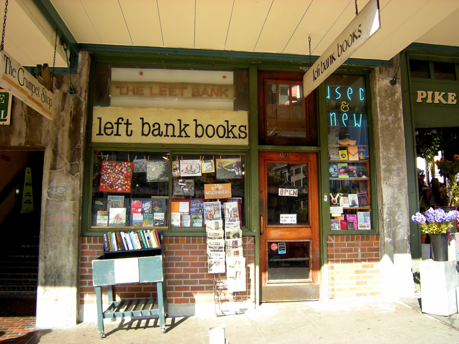 4 Left Bank Books At the end