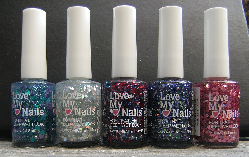 Deez Nailz: ♥ Love My Nails = Glitter\'s ♥