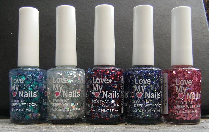 Deez Nailz: ♥ Love My Nails = Glitter\'s ♥