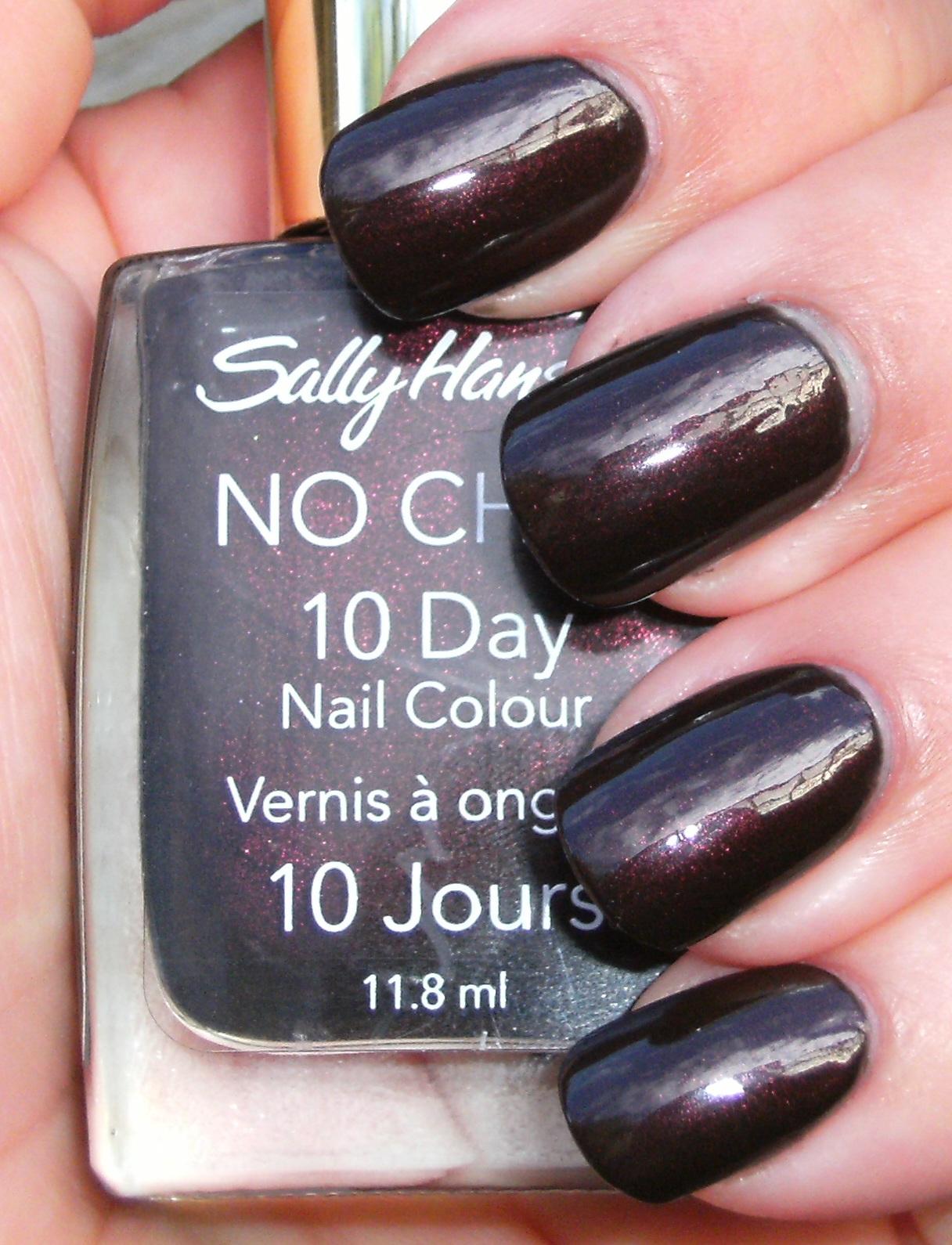 Sally Hansen No Chip 10 Day Nail Color - Best Nail 2018