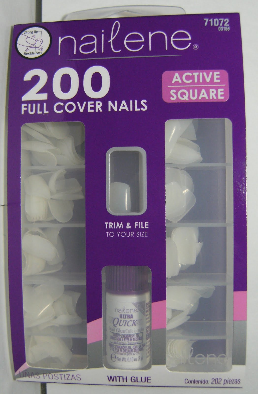 Deez Nailz: ♥ Paintable False Nails -