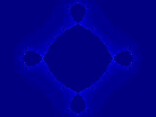 Quartic Julia set for c=-1