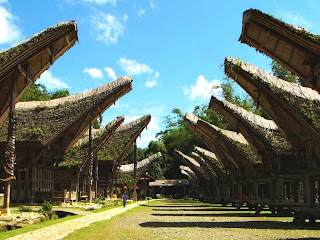 Tongkonan in Tana Toraja