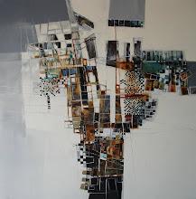 La petite fille au seau - 100 x 100 cm - 2008