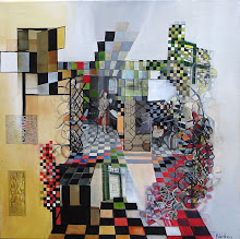 Intérieur flamand - 50 x 50 cm - 2010