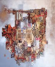 Portes dorées - 120 x 100 cm - 2010