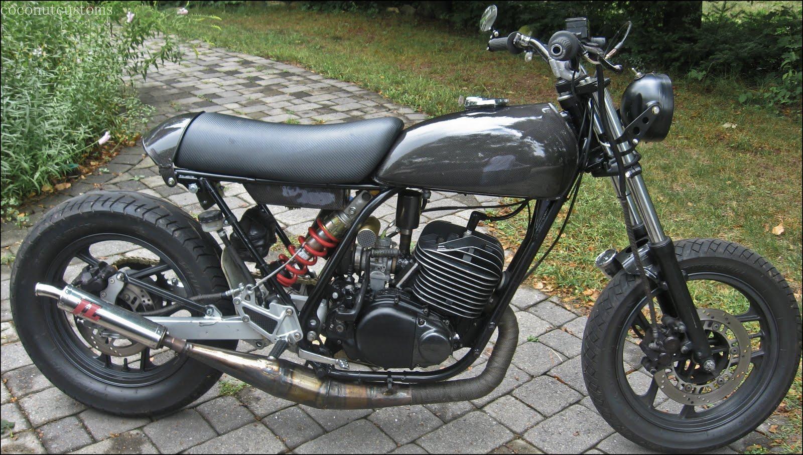酒 レーサー (Sake Racers): Steve's StreetTracker (Yamaha DT400)