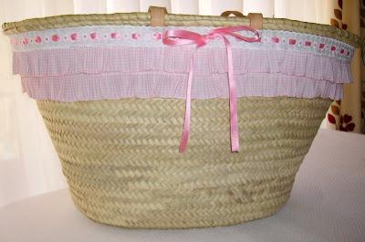 El blog de evelyn 482 cesta para la playa tuneada - Cestas para la playa ...
