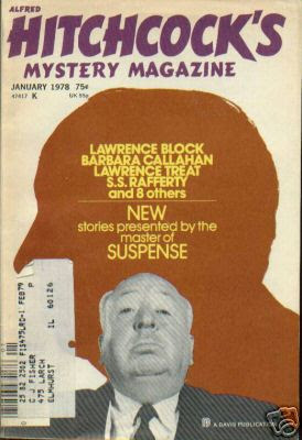 Alfred Hitchcock's Mystery Magazine for January, 1978 was the first adult ...