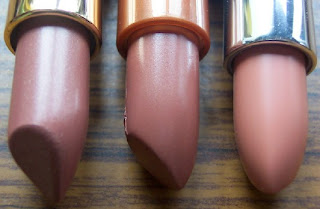 loreal and rimmel lipsticks